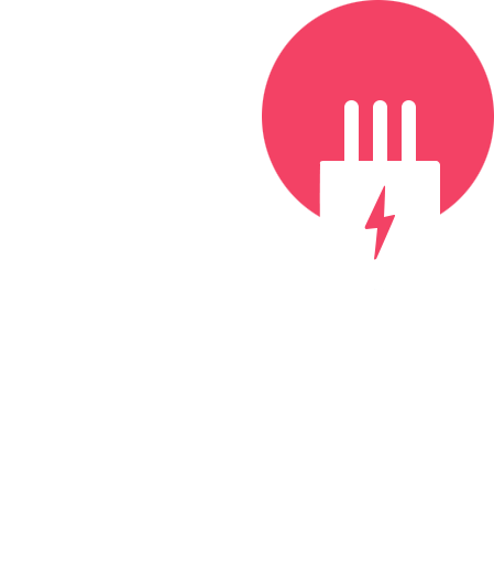 Electrical plug graphic