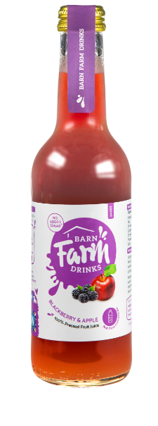 Blackberry and apple juice 330ml